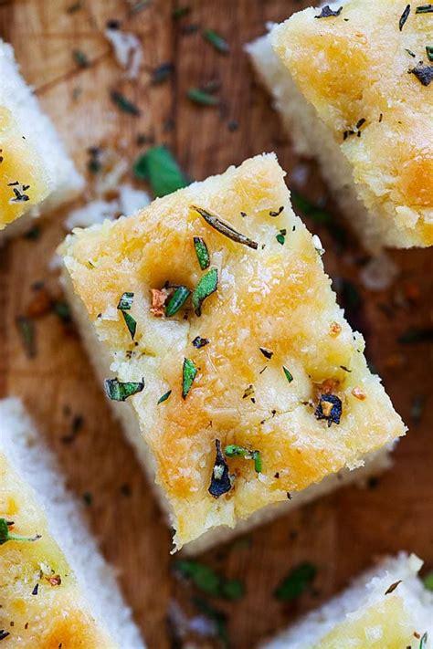 focaccia focaccia bread focaccia recipe rasa malaysia