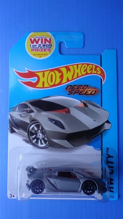 hot wheels lamborghini sesto elemento hw city