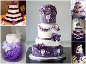 purple wedding cake purple wedding theme wedding
