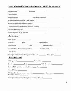 Bridalhaircotract Austin Wedding Hair And Makeup Contract