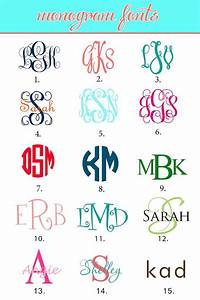 monogram initials monogrammed fonts pinteres With how to create a monogram