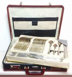 Besteckkoffer 12 Personen : kaiserbach bestecke 12 personen 72 teiliger besteckkoffer edelstahl 18 10 catawiki ~ Orissabook.com Haus und Dekorationen