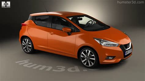 nissan micra neues modell 2016 nissan micra 2016 3d model by hum3d