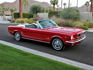 STOCK# 1128 - 1966 FORD MUSTANG A CODE CONVERTIBLE For Sale : the Electric Garage