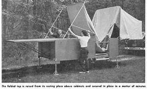 Vintage Teardrop Trailer Campers Chuck Wagon Plans  Jack