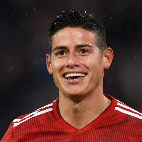 This biography of james rodríguez provides detailed information about his. James Rodriguez 'Very Happy' at Bayern Munich, Expects Real Madrid Talks | Bleacher Report ...