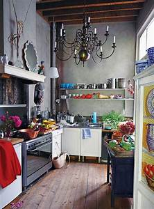 10 Beautiful Bohemian Kitchen Ideas Designs HomeBackyard