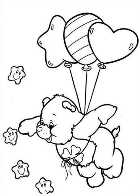 Free Coloring Sheets by Free Printable Care Coloring Pages For
