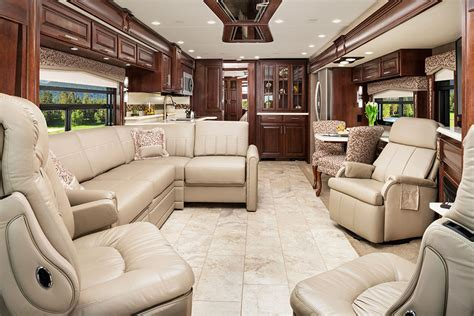 Aspire luxury motorhome from Entegra Coach