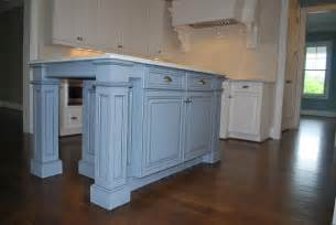 Custom Kitchen Islands with Legs