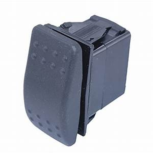 Dc Momentary Reversing Rocker Switch  Double Pole Double