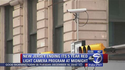 Light Cameras Nj by New Jersey Light Program Comes To End Abc7ny