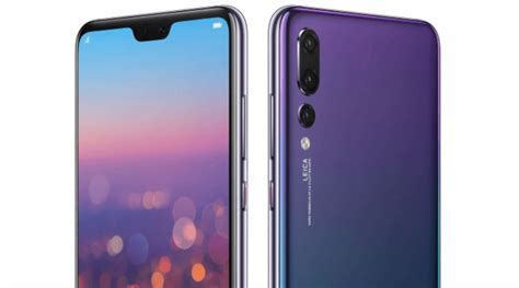 huawei p20 and p20 pro to come with motion mode 128gb storage the indian express