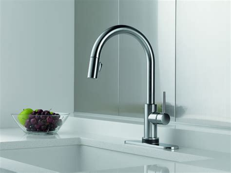Delta Trinsic Faucet With Soap Dispenser by Faucet 9159 Cz Dst Sd In Chagne Bronze By Delta