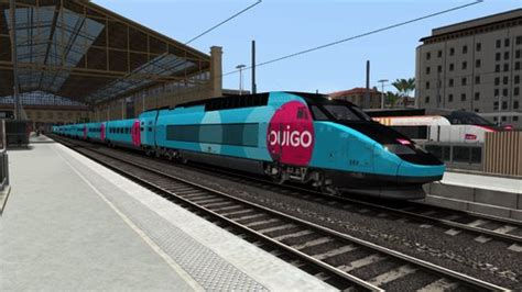 It is an independent subsidiary of the french national rail company sncf and also utilizes some of their. Fictif Reskin TGV Reseau Ouigo - Automotrices et TGV ...