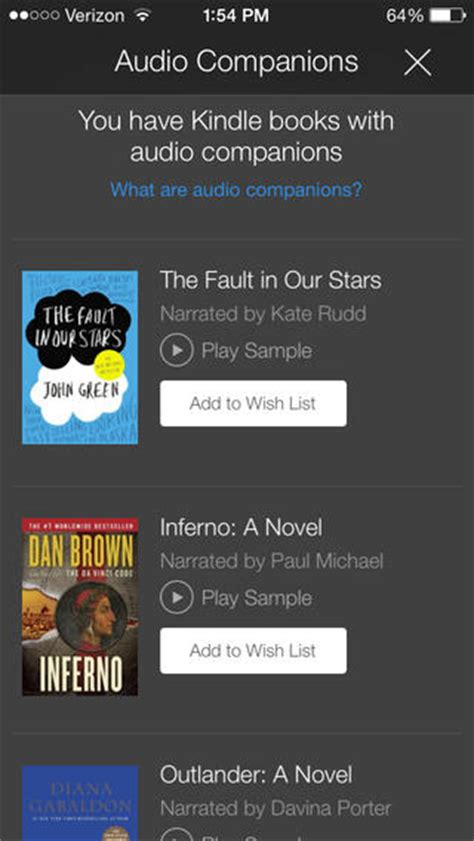 how to listen to kindle books on iphone now lets you listen to audible audiobooks right