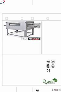 Lincoln Convection Oven 3255 User Guide