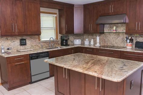Typhoon Bordeaux Granite Countertops - typhoon bordeaux countertops transitional kitchen