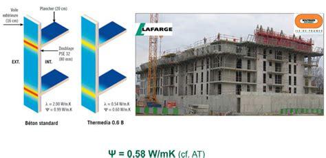 bureau etude thermique rt 2012 rt 2012 et traitement des ponts thermiques