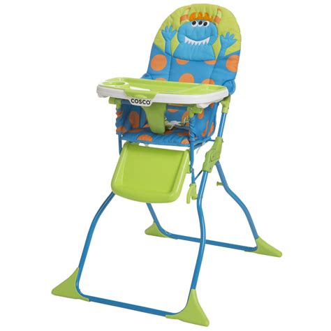 cosco simple fold deluxe high chair syd