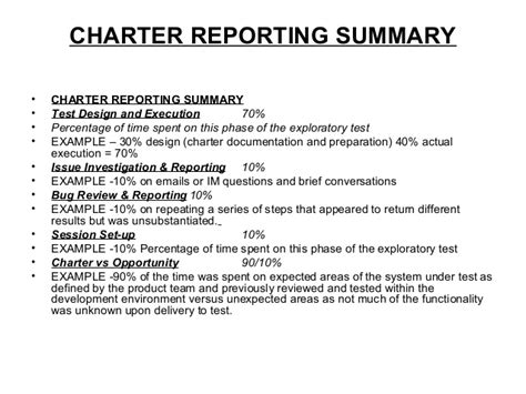 Qa Exploratory Test Charter Template