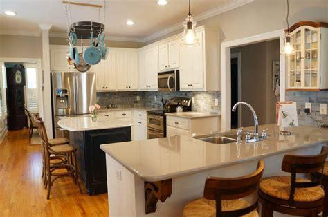 kitchen design island or peninsula concepts tips jobs