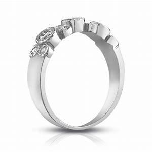 100 Ct Ladies Round Cut Diamond Wedding Band Ring In