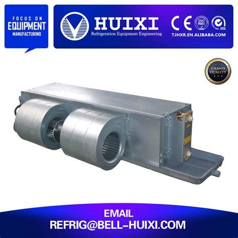 fan coil unit price horizontal galvanized steel hydronic fan coil unit