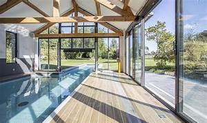 Piscine Couloir De Nage : couloir de nage l 39 int rieur chez caron piscines ~ Premium-room.com Idées de Décoration