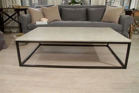 metal table base for sale coffee table seagrass stone top coffee table on blackened
