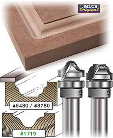 mlcs raised panel carbide tipped router bits
