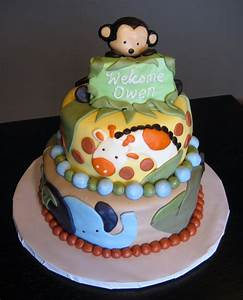 Custom Cakes by Julie: Jungle Baby Shower Cake