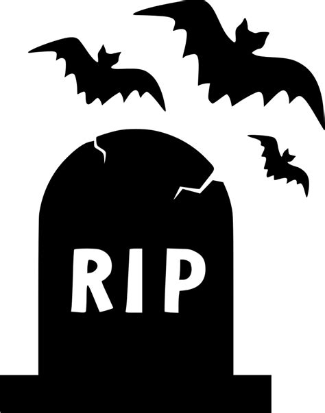 Library of halloween gravestone clip art transparent png ...