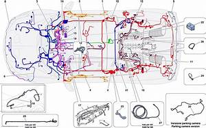 Ferrari 458 Speciale A Main Wiring Harnesses