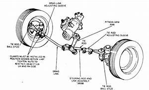 Ford Ranger Manual Steering Pitman Arm