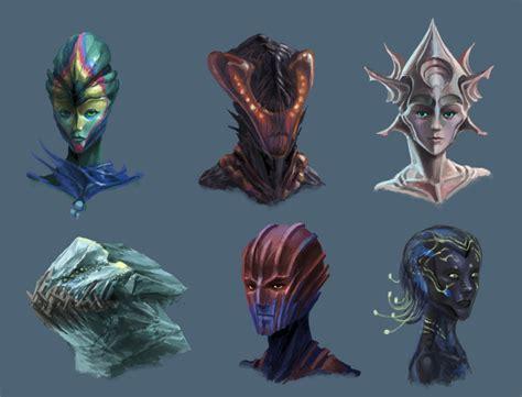 Alien Head Concepts 2 By Phill-art On Deviantart