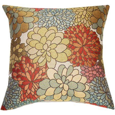 Throw Pillows For Walmart by Better Homes And Gardens Mumsfield Floral Decor Pillow