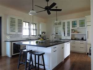 decorate beach house kitchen designs all about house design With kitchen colors with white cabinets with beach framed wall art