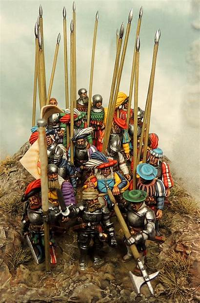 Warlord Games Landsknechts Painting Competition Plastic Francesco