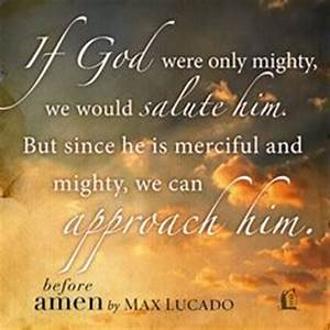 Prayer on Pinterest | Max Lucado, End Of Days and Power Of ...