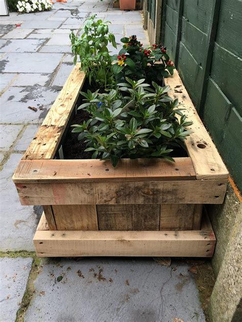 repurposed pallet wood planter pallet ideas
