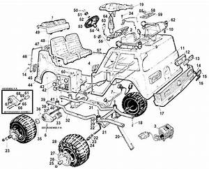 Power Wheels Fire Truck Parts