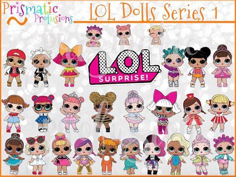 Lol Surprise Dolls Series 1 / Dolls / Image Clipart / L.o.l