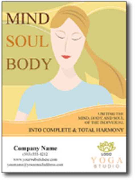 beauty fitness business postcard marketing