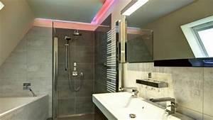 Led Beleuchtung Badezimmer : badezimmer beleuchtung decke led youtube ~ Markanthonyermac.com Haus und Dekorationen