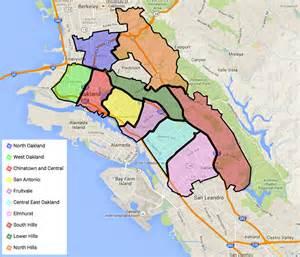 Oakland California Crime Map