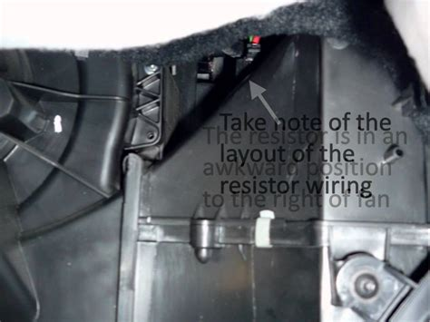 polo 6r kachel replace vw polo heater fan ballast resistor youtube