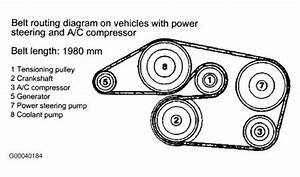 1999 Mercedes C280 Serpentine Belt Diagram