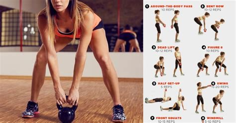 kettlebell exercises arms toned effective most body gymguider upper arm workout re workouts defined abs muscles shoulders training