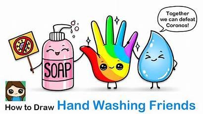 Draw Washing Drawing Hands Easy Coronavirus Drawings
